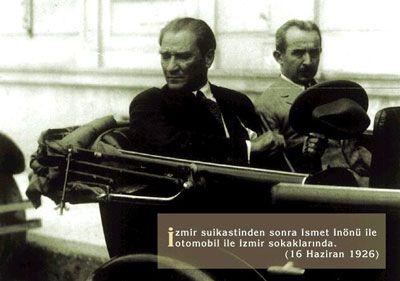 Atatürk ve İnönü (İzmir 1926)
