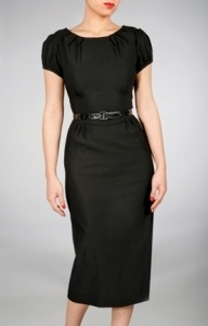 1000  images about &quot-Little black dress&quot- (knee length or below) on ...