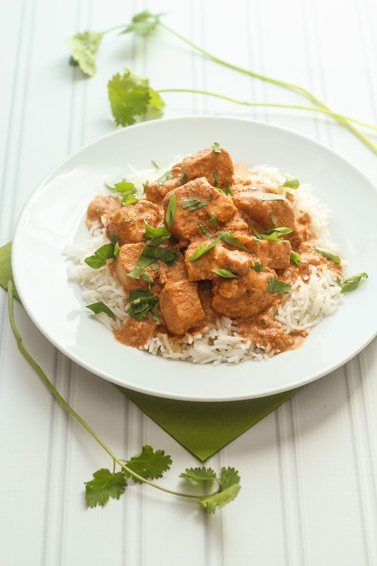 Slow-cooker Tikka Masala.  Yum.  where will the vegetables come from?