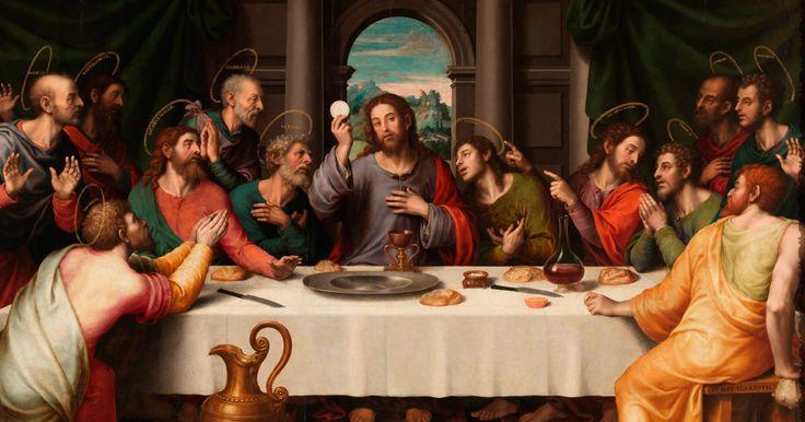 Hoy la Iglesia celebra el Jueves Santo. En este día, durante la Última Cena, Jesús instituyó dos sacramentos: La Eucaristía y el Orden Sacerdotal. https://www.aciprensa.com/noticias/hoy-celebramos-el-jueves-santo-la-ultima-cena-del-senor-16529/