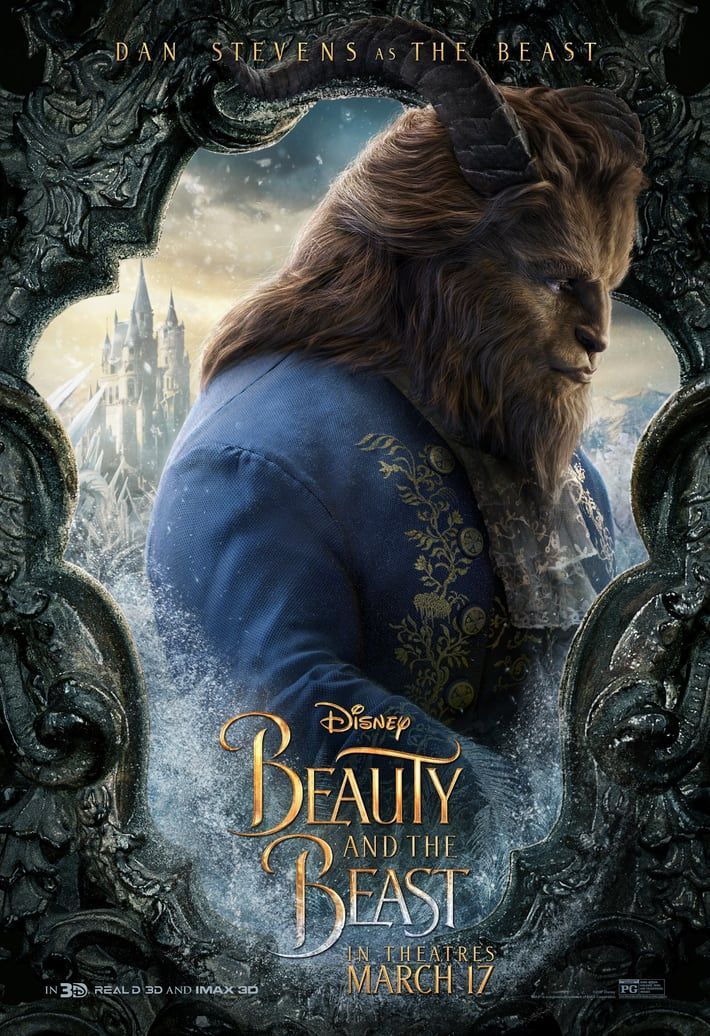 New Beauty And The Beast Posters Gives Us Our First Look At The Prince | moviepilot.com