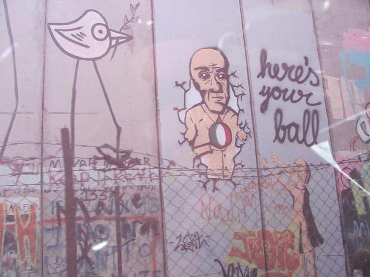 Muro de separación entre Palestina e Israel - Barrera israelí de Cisjordania - Wikipedia, la enciclopedia libre