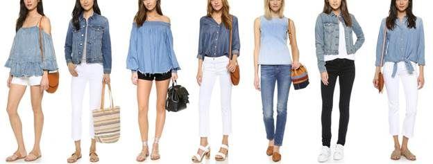 Kimba Likes Shopbop seasonal trends - denim separates | Shopbop Friends and Family Sale