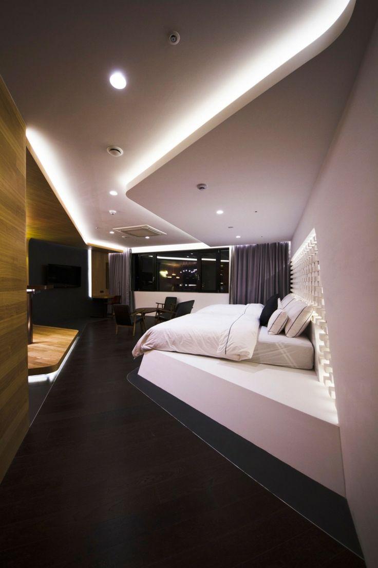 Hotelzimmer Design mit indirekter Beleuchtung - Luxus pur ...