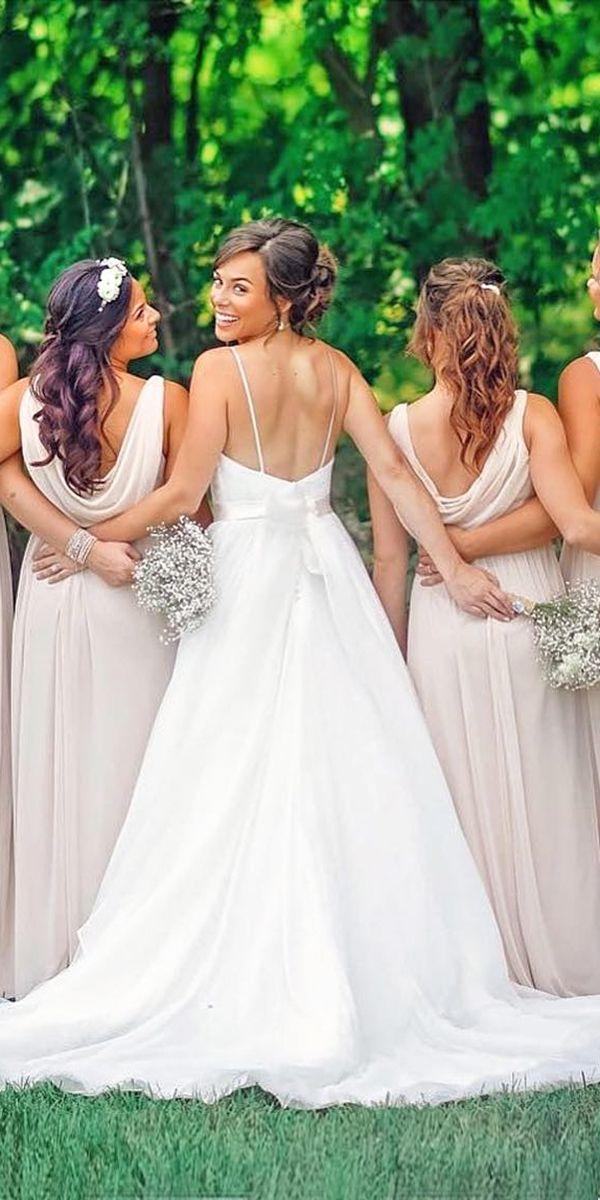 Angelina Jolie Wedding Dress And It's Twins ❤ See more: http://www.weddingforward.com/angelina-jolie-wedding-dress/ #wedding #dresses #angelina #jolie