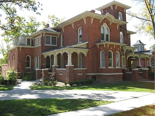 17 best images about victorian architecture italianate for Italianate homes for sale
