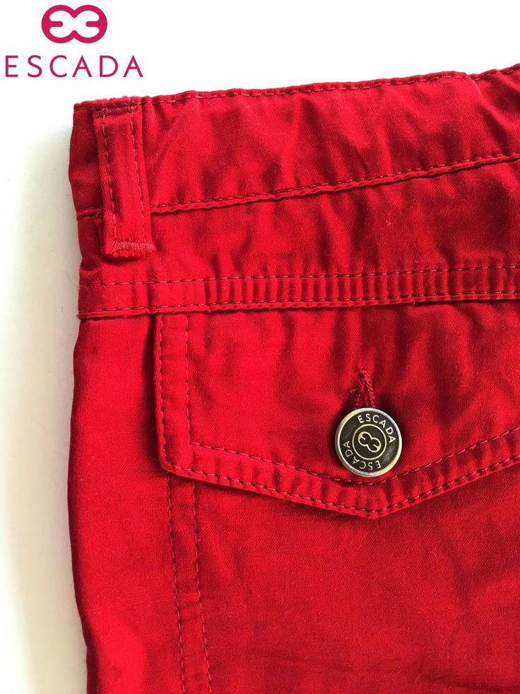 Amazing Escada Girls Red Pants / Jeans - Size: 5 ANS #Escada #CasualPants #Dressy