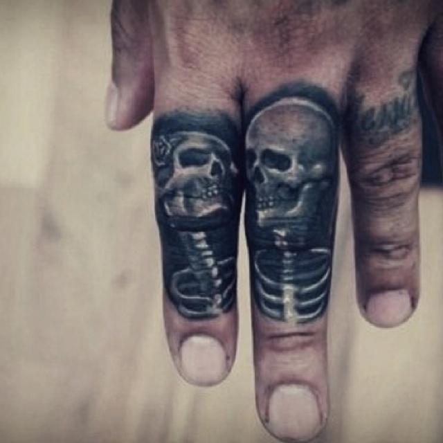 Finger Tattoos, Knuckle Tattoos