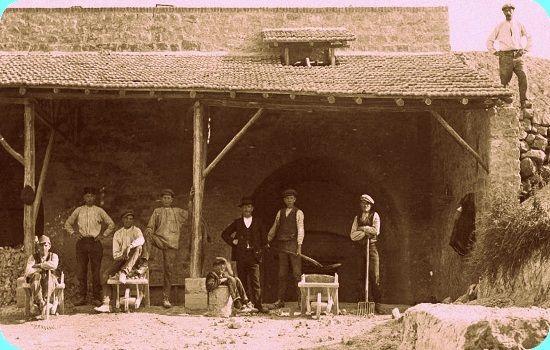 kalkoven Schneiders | Daelsweg Ubachsberg | omstreeks 1914