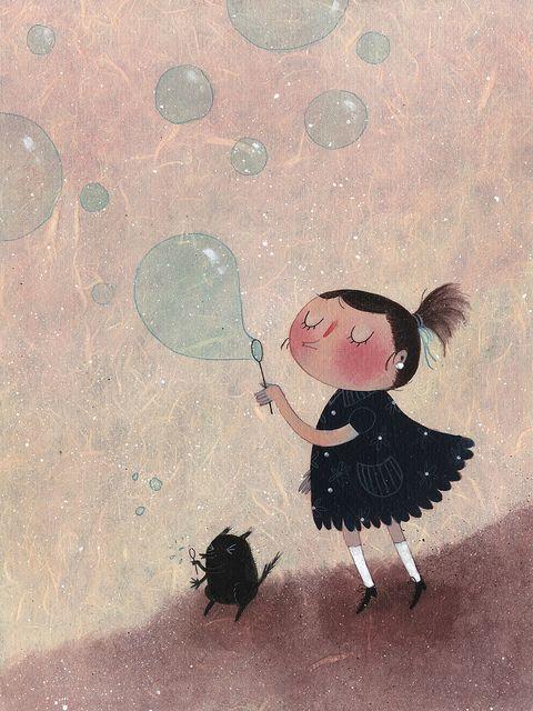 bubbles by Maddalena Gerli, via Flickr