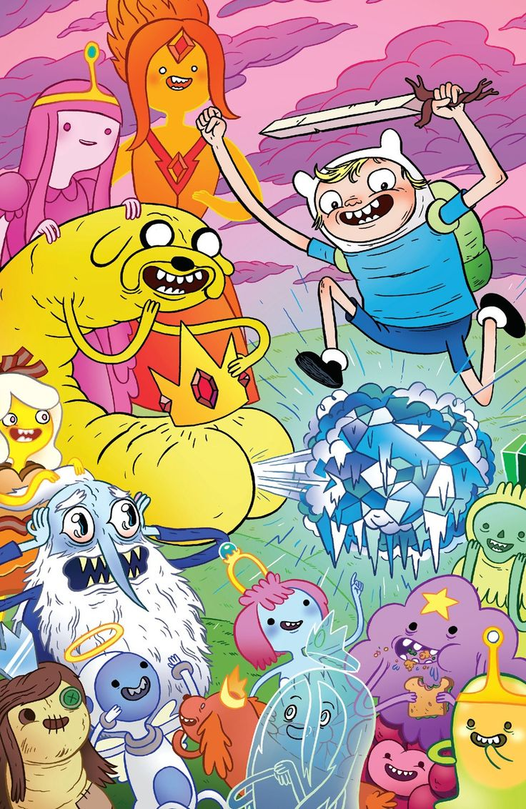 Finn, Jake And Marceline Hack The Planet In Adventure Time #13 [Review] - ComicsAlliance | Comic book culture, news, humor, commentary, and reviews
