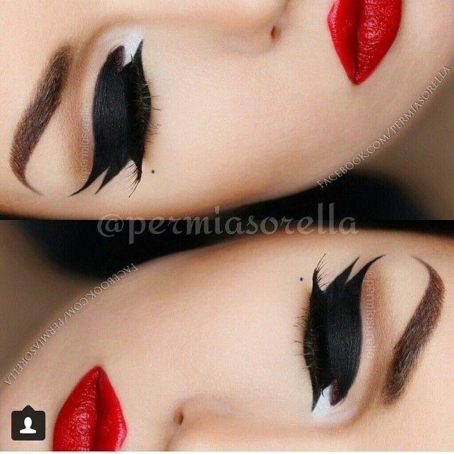 Artistic eyeliner