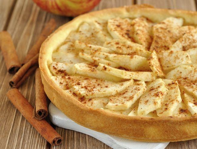 Яблочный пирог с миндалем от Александра Селезнева - Портал Домашний