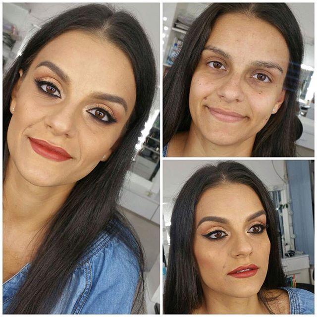 Beautifull @silvifdk  #lectiidemachiaj #makeup #beforeandafter #gorgeous #beautiful #friendship #makeupartist #makeupart #makeuptransformation #atelierparis #cosmetics #lipstick #mascara #eyebrowsonfleek #onfleek #picoftheday #makeuoftheday #instagood #instalike #followme