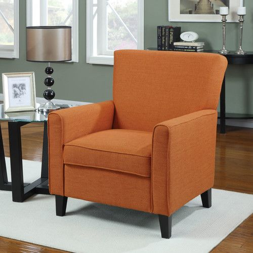 Goodfield Armchair Orange Accent Chair Accent Chairs