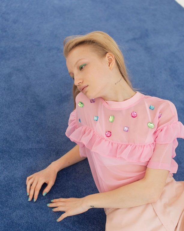Lazy Oaf Sheer Glamour T-shirt - Everything - Categories - Womens