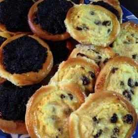 Bezlepkové koláčky s makem a tvarohem
