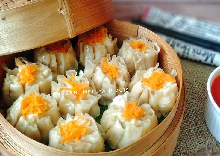 Resep Dimsum Ayam Udang Oleh Susan Mellyani Resep Resep Masakan Makanan Ringan Sehat Resep Makanan Cina