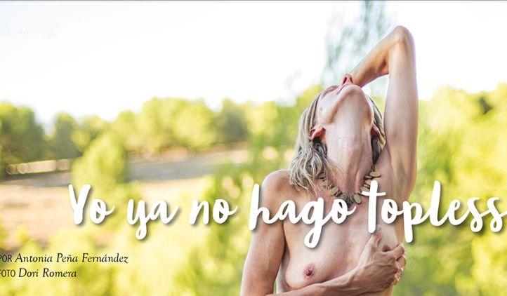 Yo ya no hago topless