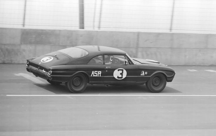 Holman Moody Challenger Falcon Raced In The 12 Hrs Of