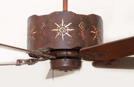 CF237SW Southwestern Style Ceiling Fan - The Southwest Store