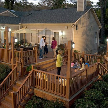 17 best images about choicedek deck escapes on pinterest for Patio extension designs