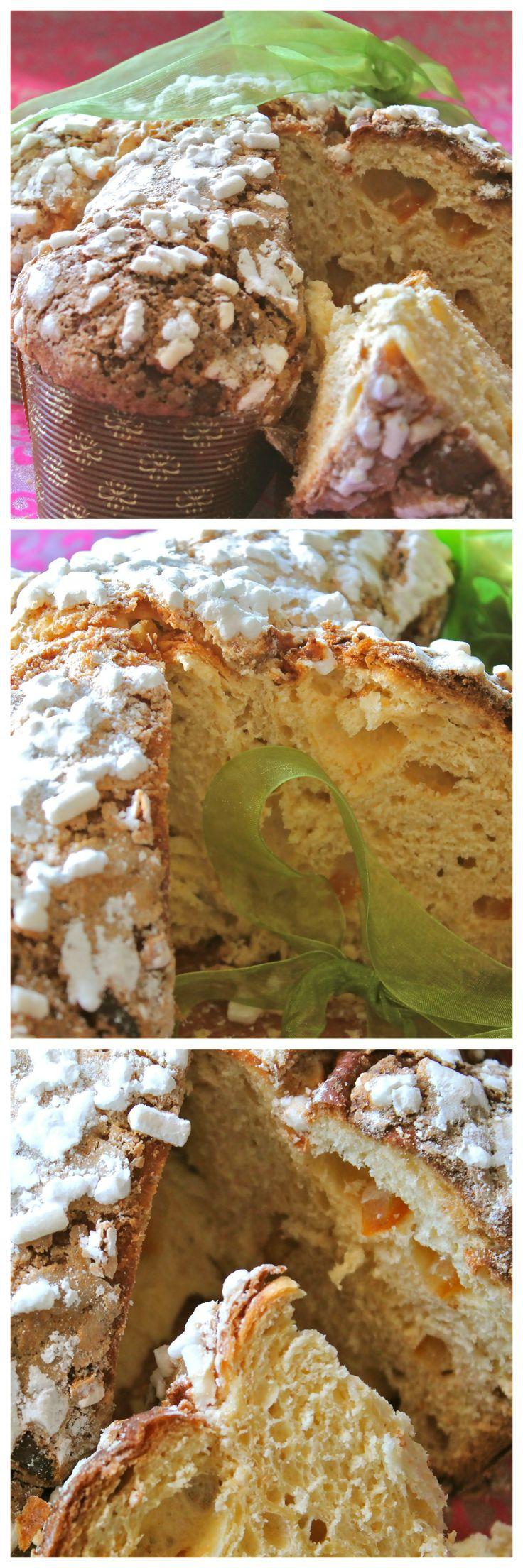 "Tipical Italian Easter Cake - ""Colomba"""