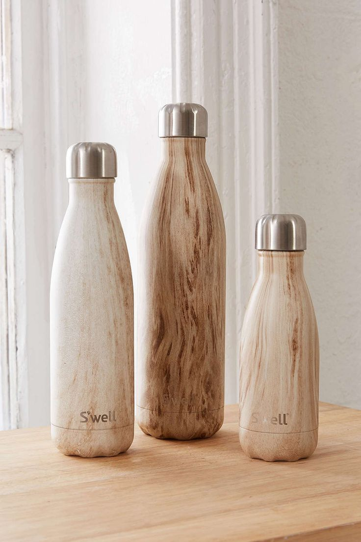 Swell Wood Water Bottle - Urban Outfitters