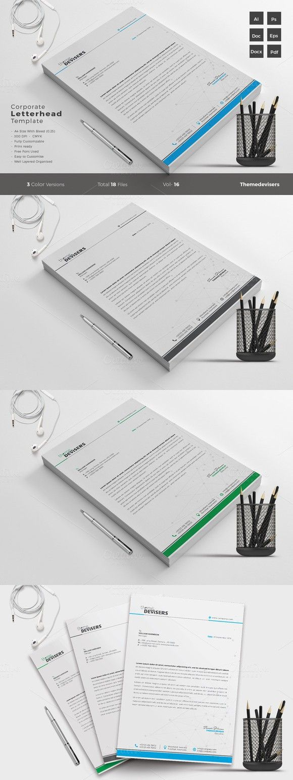 Business Letter Templates Word%0A Letterhead Word Template