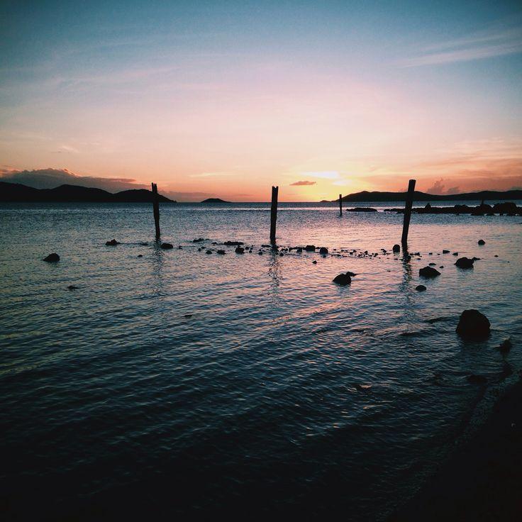 Bach beach sunset #tsi #thursdayisland