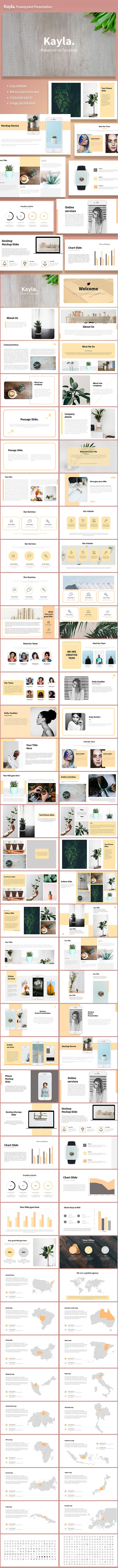 Kayla Presentation Template - PowerPoint Templates Presentation Templates