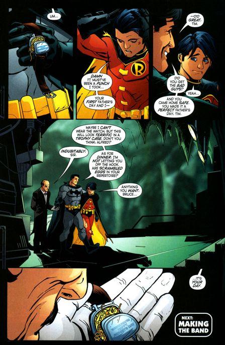 Happy Fathers Day, Batman!