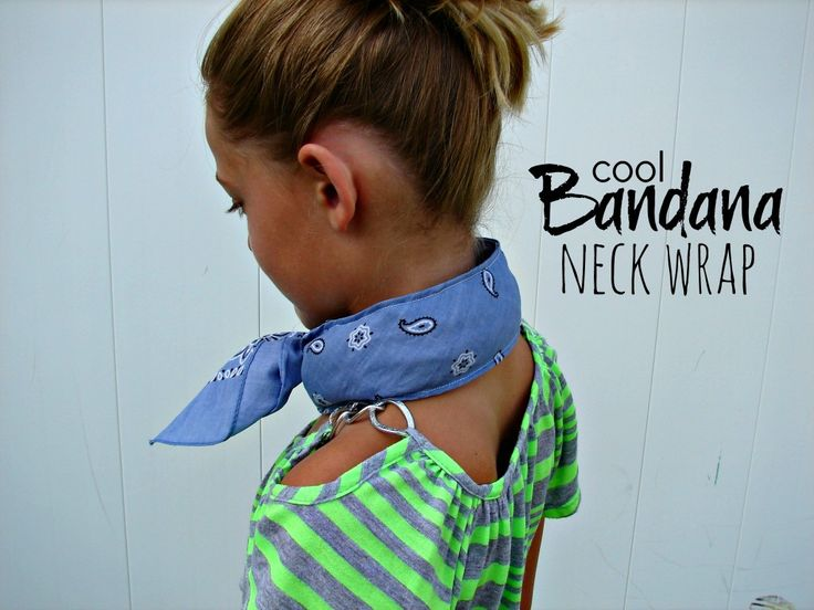 "a ""cool"" bandana neck wrap filled with beans"