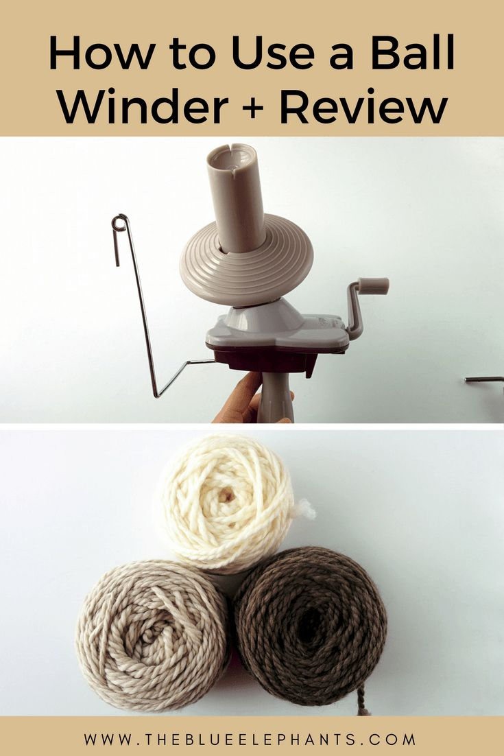 Learn all about how to use a yarn ball winder and check out my review for the KnitPicks one! Also, check out how this ball winder helps me organize my stash