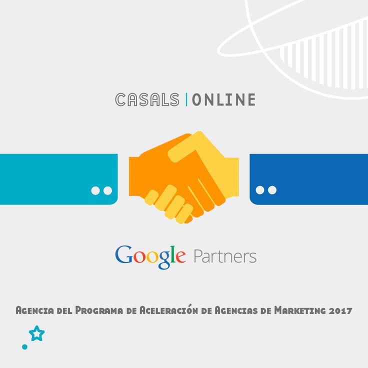 Estamos muy contentos de haber sido seleccionados para formar parte del nuevo Programa de Aceleración de Agencias de Marketing de Google Partners y contar de forma exclusiva con un equipo de Google Partners para seguir creciendo 🙌🌐  ▶ http://casalsonline.es/ ◀