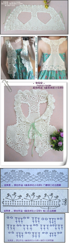 26 best tejidos images on Pinterest | Crochet patterns, Crochet ...