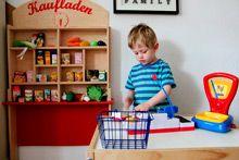 Все для игры в магазин, игрушечные продукты, весы
