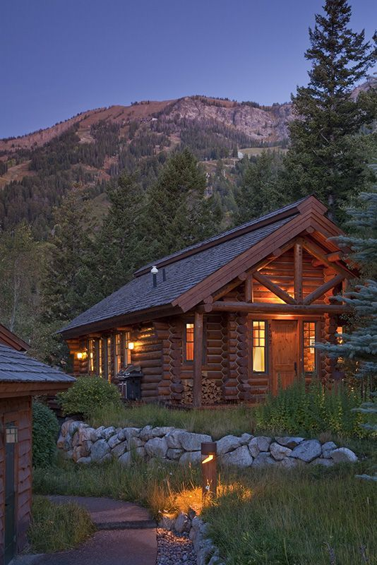 1037 best my cabin in the woods images on pinterest for Cabins in jackson hole