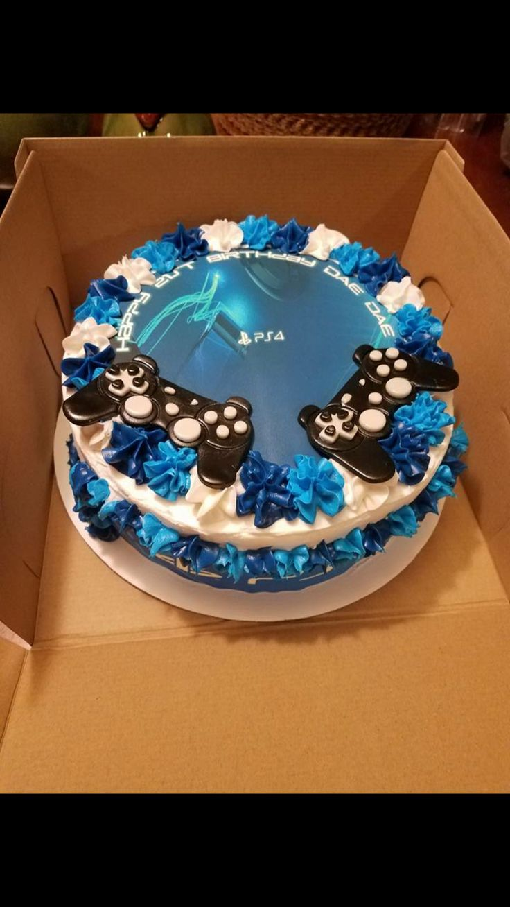 Best 25 Ps4 Cake Ideas On Pinterest Playstation Cake