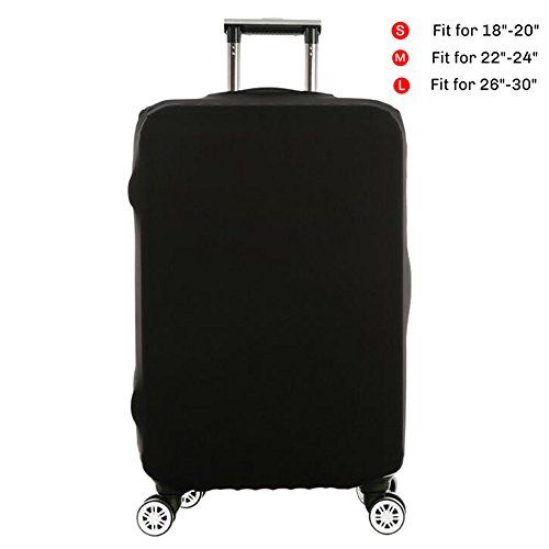 #Wellbeing #Travel #Luggage #Cover #Spandex #Protective #Elastic #Suitcase #Protector #Bag #Fits 18-30 #Inch High quality material: 85% polyester + 15% #spandex, easy to wash and never fade. Different size #fits 18-30 #inch #suitcase, S (Suitable for 18---20 #inch luggage) , M (Suitable for 22---24 #inch luggage), L (Suitable for 26---30 #inch luggage) If your #luggage is hard shell style, please order a bigger size Easy to put on and remove,extremely durable,washable and lig