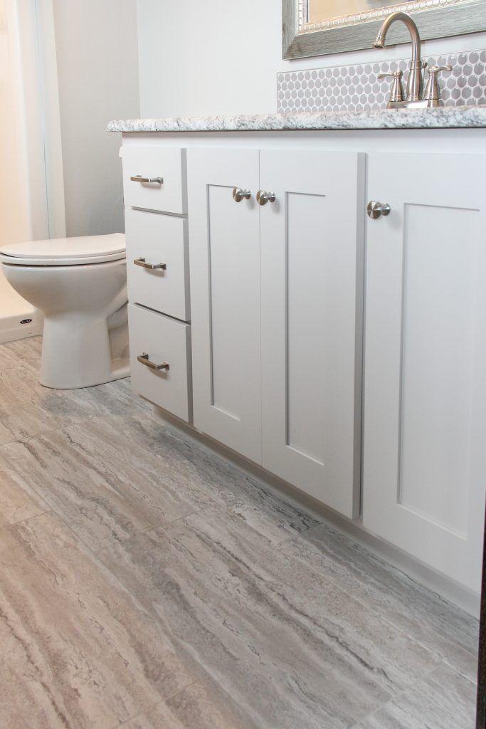 Vinyl Flooring Bathroom Plank, Is Vinyl Plank Flooring Good In Bathrooms