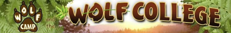 Youth, Adult & Family Camps | The Wolf College. Resource idea and something to share with families.