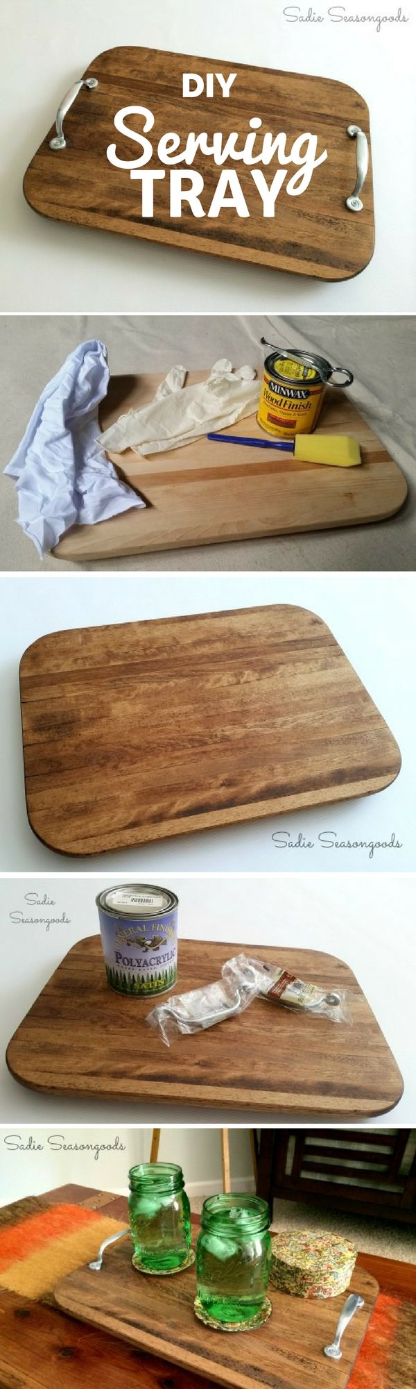 Check out the tutorial: #DIY Farmhouse Serving Tray @istandarddesign