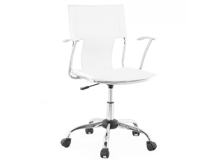 Krzesło Biurowe Oxford Białe — Krzesła Kokoon Design — sfmeble.pl