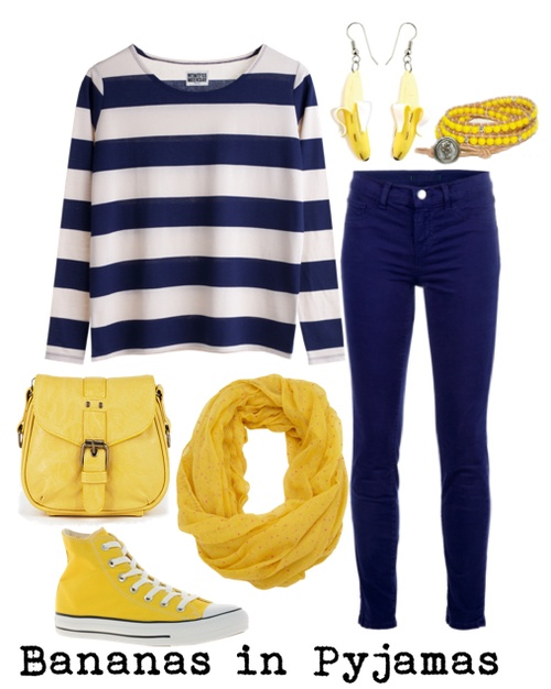 I would actually wear this but also.. it's bananas in pyjamas!