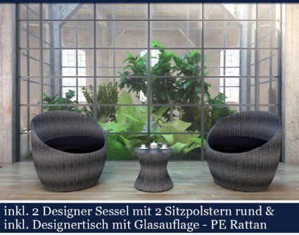 25+ Best Ideas About Gartenmöbel Rattan Set On Pinterest ... Sitzgruppe Im Garten Gartenmobel Sets