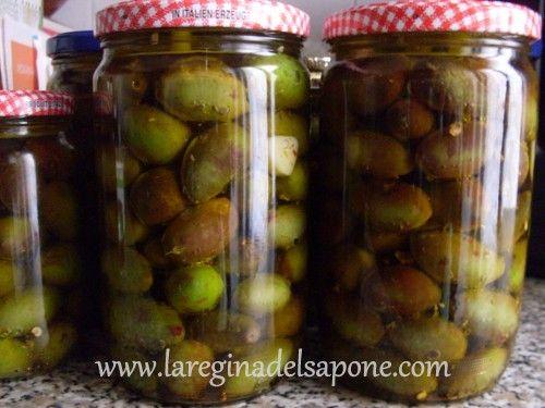 La Regina del Sapone: olive sott'olio