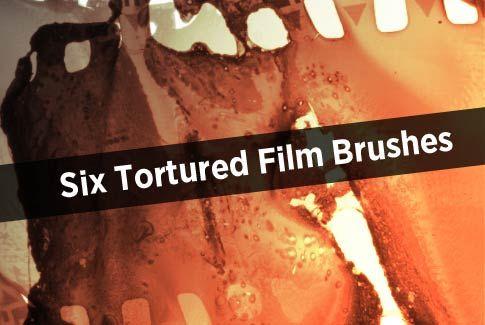 Tortured film brushes