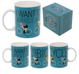 Fun Bone China Cycling Mug