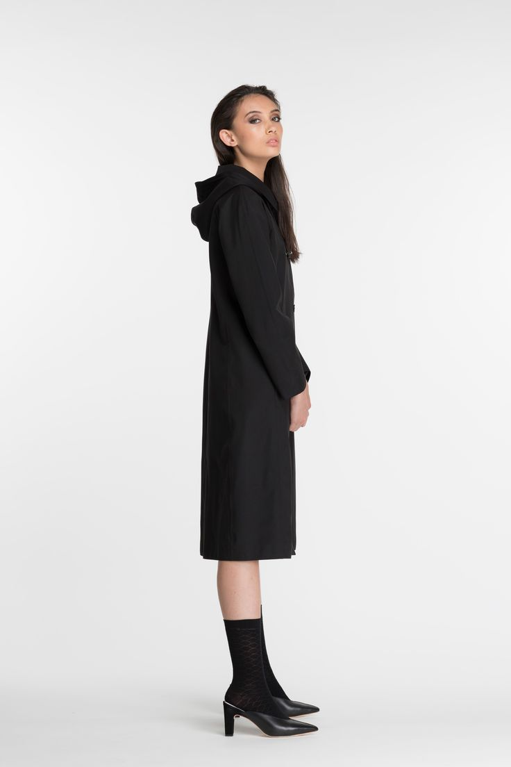 Okewa Amherst Coat - Black
